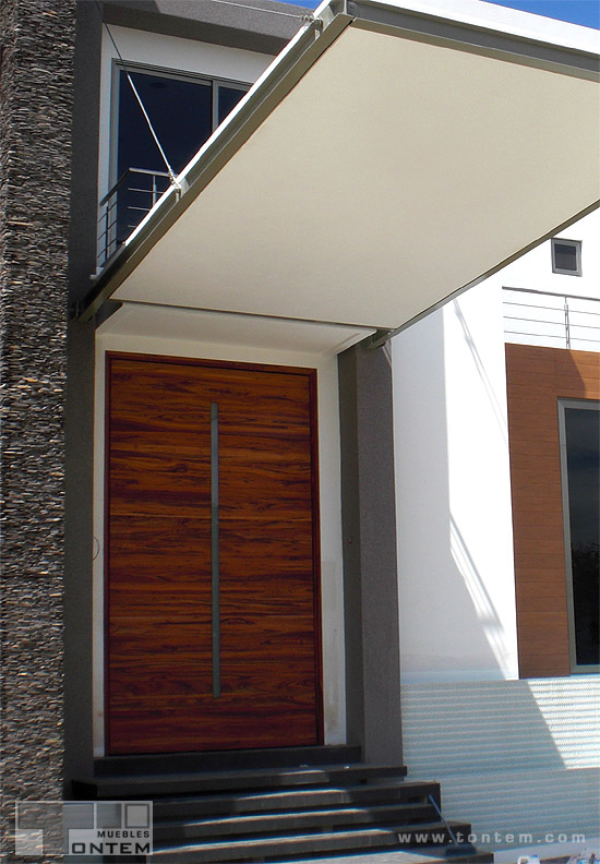 Tailor-made principal door